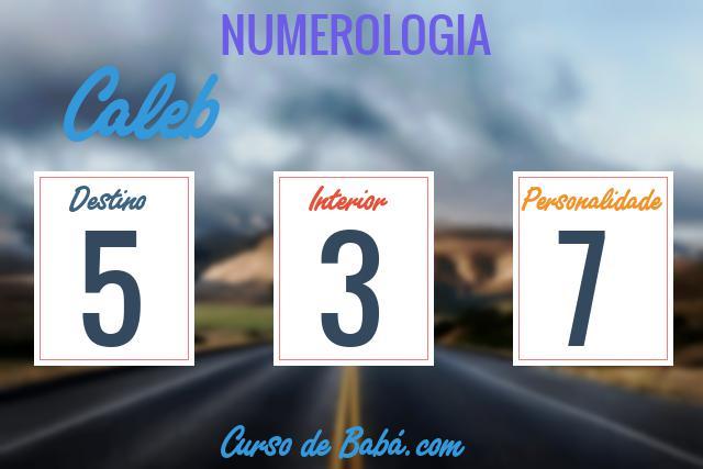 Significado do nome Caleb | Origem, Numerologia, Nomes que combinam