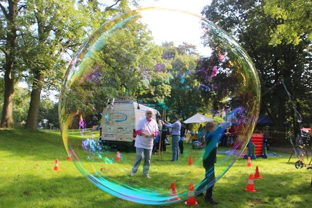 brincadeiras festa infantil bolhas de sabao
