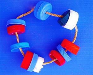 brinquedos reciclados pedagogicos