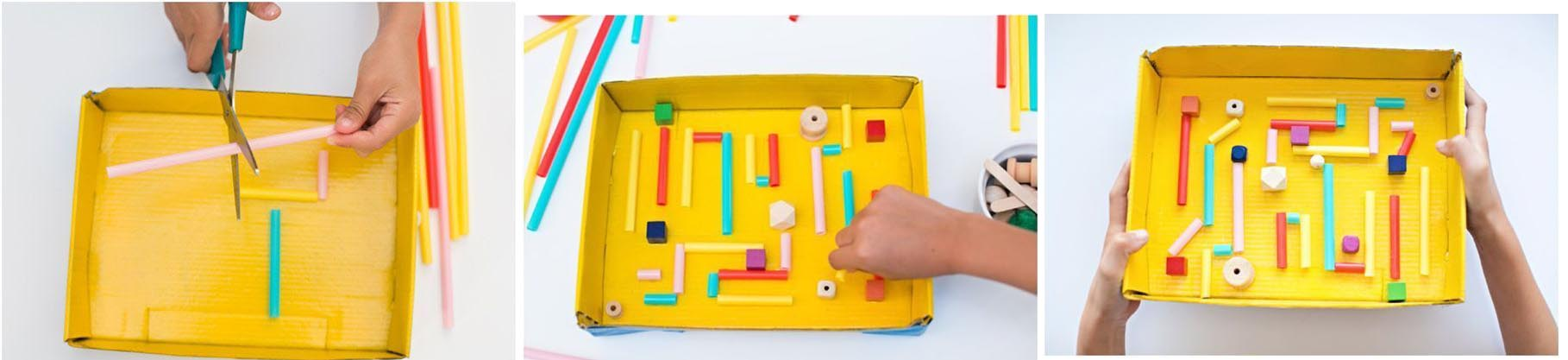 brinquedos-reciclados-labirinto