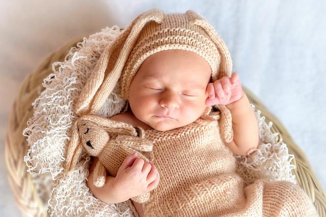 cuidados com recem nascido sono