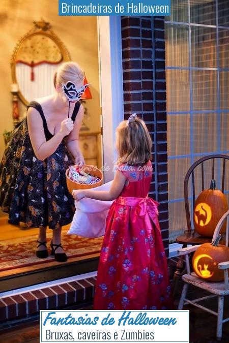 Brincadeiras de Halloween - Fantasias de Halloween