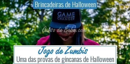 Brincadeiras de Halloween - Jogo de Zumbis