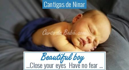 Cantigas de Ninar - Beautiful boy