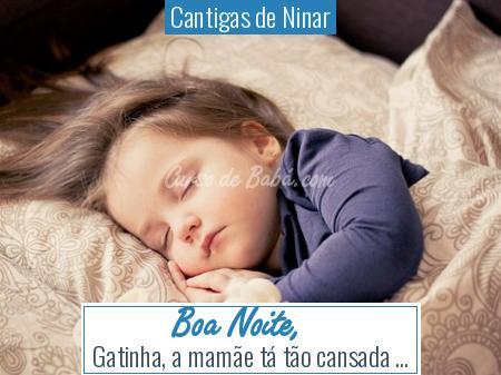 Cantigas de Ninar - Boa Noite,