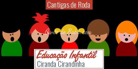 Cantigas de Roda - Educação Infantil