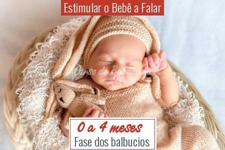 Estimular o Bebê a Falar - 0 a 4 meses