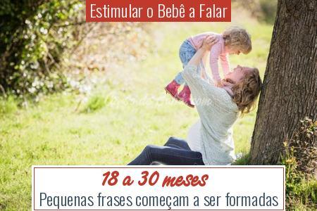 Estimular o Bebê a Falar - 18 a 30 meses