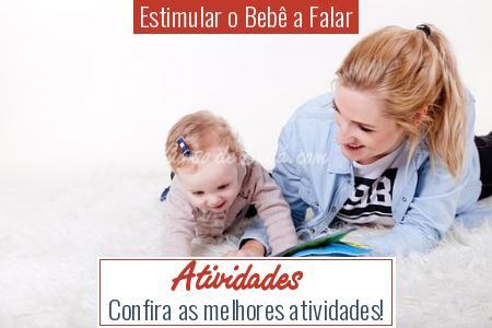 Estimular o Bebê a Falar - Atividades