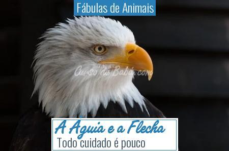 Fábulas de Animais - A Águia e a Flecha