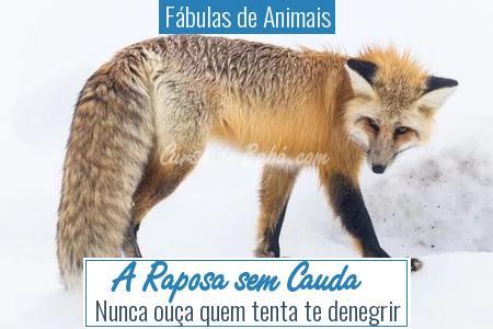 Fábulas de Animais - A Raposa sem Cauda