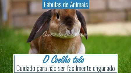 Fábulas de Animais - O Coelho tolo