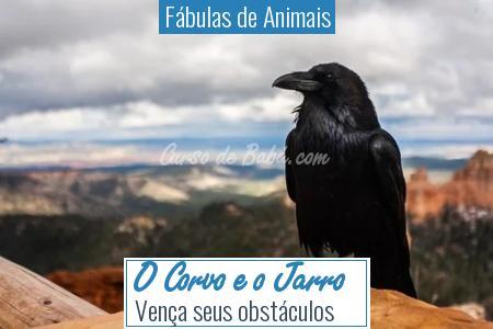 Fábulas de Animais - O Corvo e o Jarro