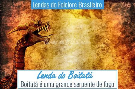 Lendas do Folclore Brasileiro - Lenda do Boitatá