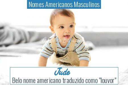 Nomes Americanos Masculinos - Jude