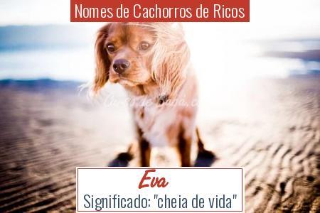 Nomes de Cachorros de Ricos - Eva