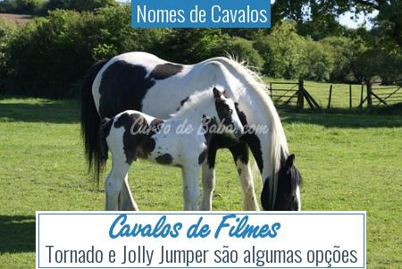 Nomes de Cavalos - Cavalos de Filmes