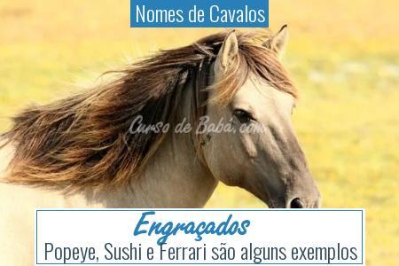 Nomes de Cavalos - Engraçados