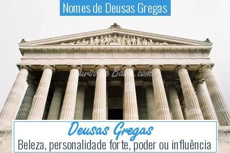 Nomes de Deusas Gregas - Deusas Gregas