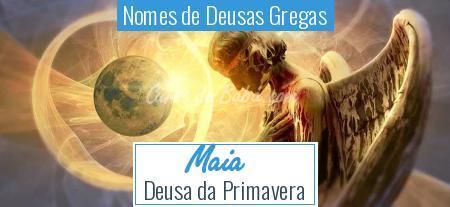 Nomes de Deusas Gregas - Maia