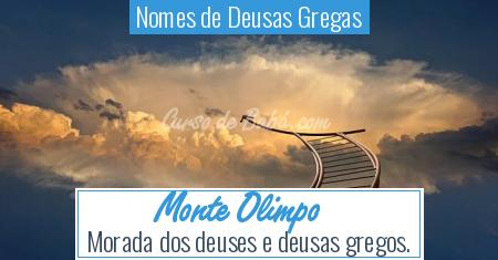 Nomes de Deusas Gregas - Monte Olimpo