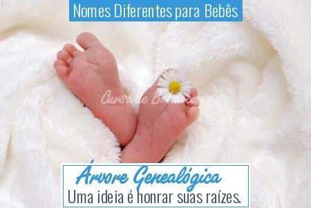 Nomes Diferentes para Bebês - Árvore Genealógica