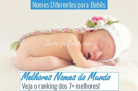 Nomes Diferentes para Bebês - Melhores Nomes do Mundo