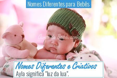 Nomes Diferentes para Bebês - Nomes Diferentes e Criativos