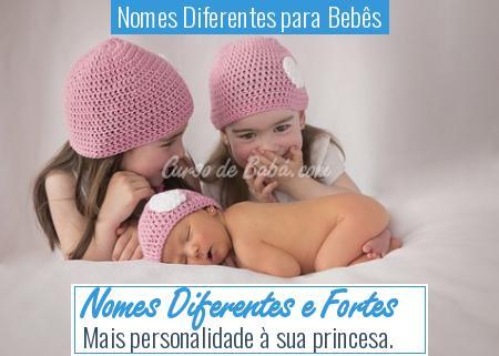 Nomes Diferentes para Bebês - Nomes Diferentes e Fortes