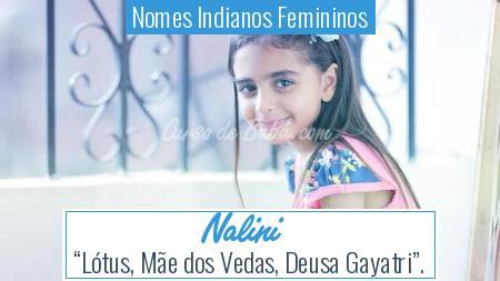 Nomes Indianos Femininos - Nalini