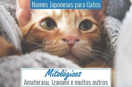 Nomes Japoneses para Gatos - Mitológicos