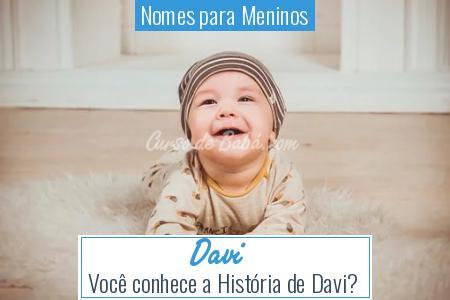 Nomes para Meninos - Davi