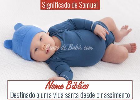 Significado de Samuel - Nome Bíblico