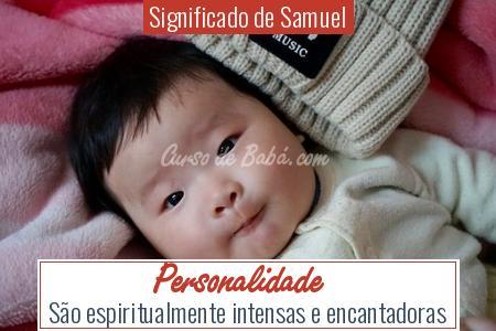 Significado de Samuel - Personalidade