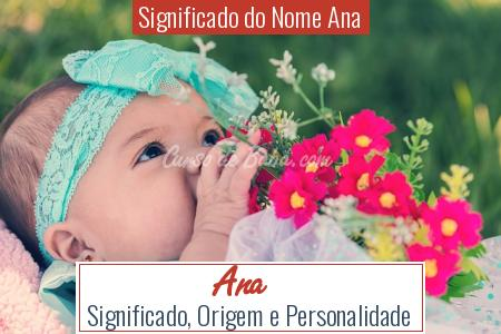 Significado do Nome Ana - Ana