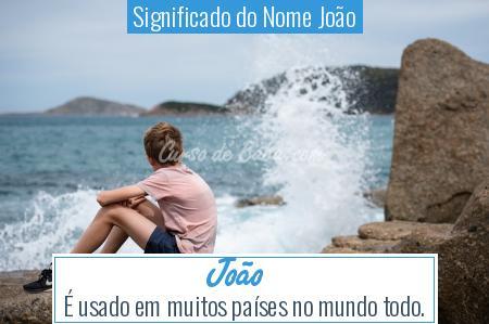 Significado do Nome João - João