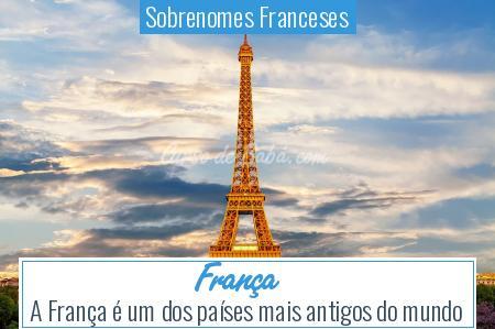 Sobrenomes Franceses - França