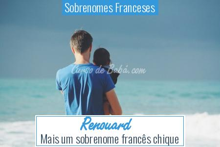Sobrenomes Franceses - Renouard