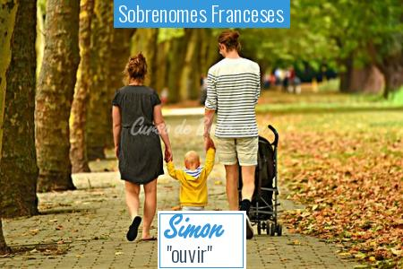 Sobrenomes Franceses - Simon
