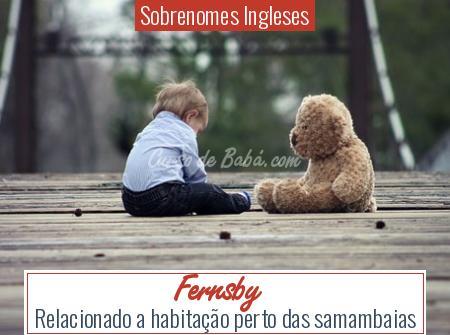 Sobrenomes Ingleses - Fernsby