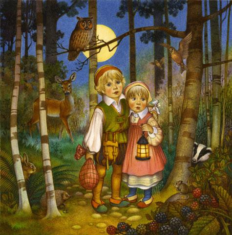 joao-e-maria-dormir-floresta