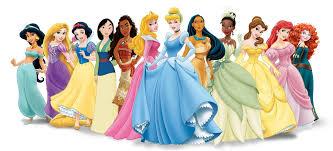 nome das princesas da disney