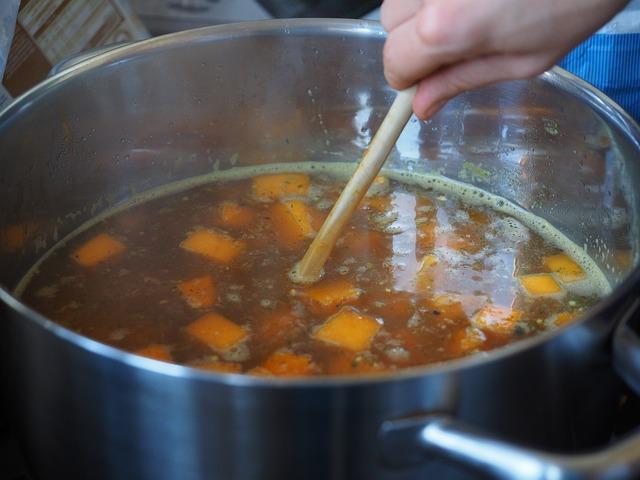 caldo de legumes para bebe