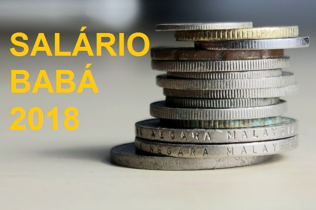 salário babá 2018